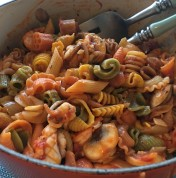 Quick and Fresh Tomato Pasta Sauce番茄意面酱