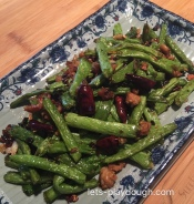 Szechuan Dry-fried Green Beans干煸四季豆