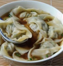 Shanghai Pork and Vegetable Wontons