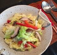 Cabbage Salad 凉拌莲花白