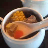 Double-boiled Sweet Corn Rib Soup_