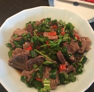Sichuan Beef Salad生椒小牛肉