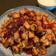 Kung Pao Tofu宫保豆腐gōng bǎo dòu fǔ