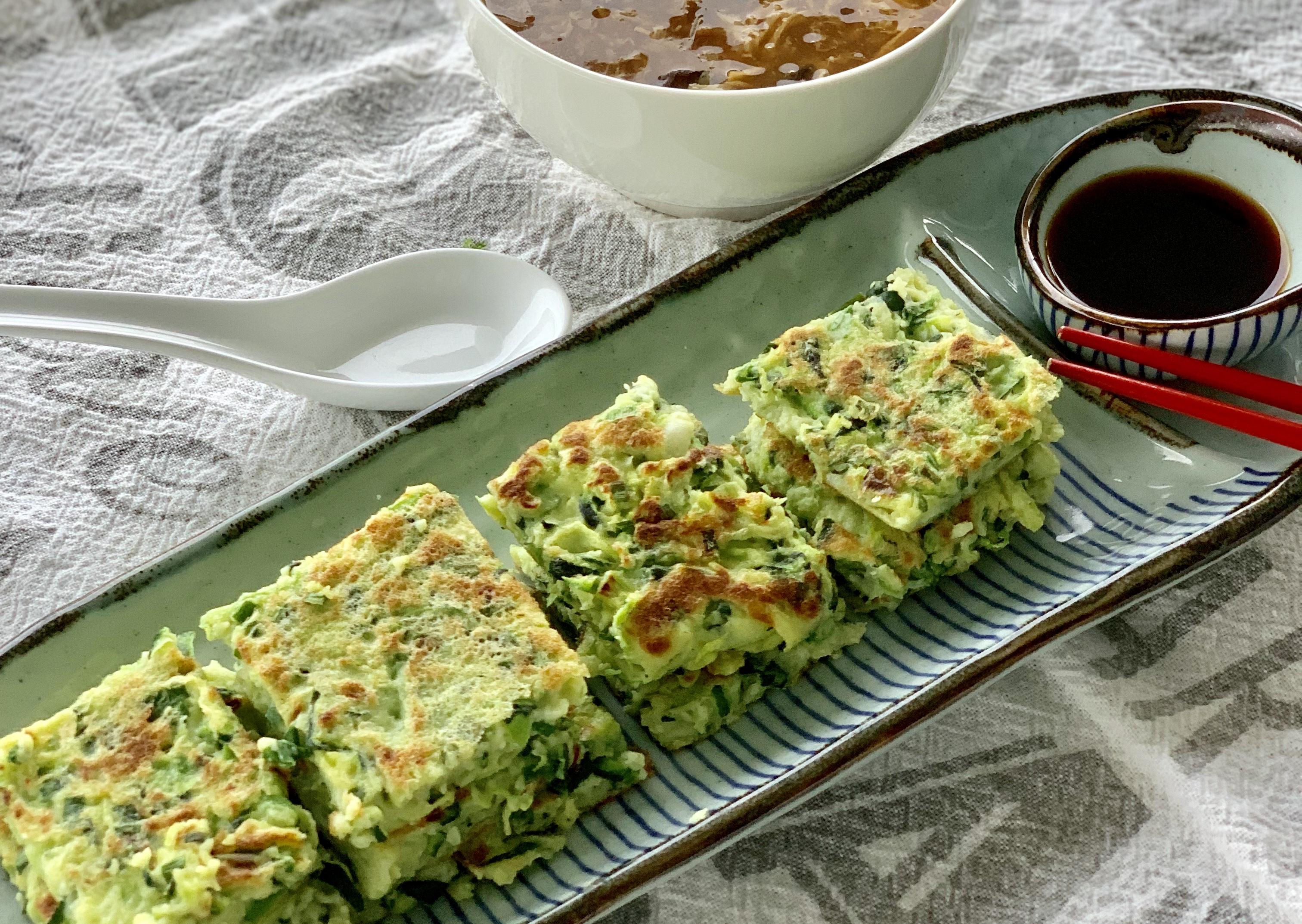 Chinese Zucchini Pancakes糊塌子hú tā zǐ