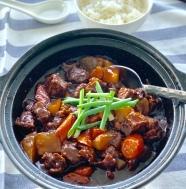 Cantonese Style Beef Brisket Stew萝卜牛腩煲
