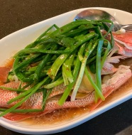 Steamed Fish with Soy Sauce港式蒸鱼