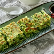 Chinese Zucchini Pancakes糊塌子