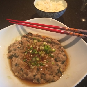 Steamed Minced Pork with Preserved Vegetables