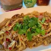 Thai-style Baby Eggplant Salad泰式茄子沙拉