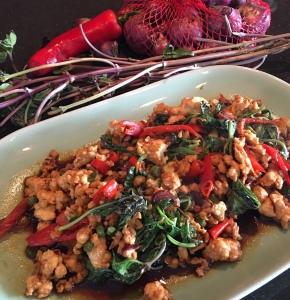 Thai Basil Chicken泰式鸡肉碎