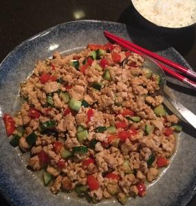 Chinese Stir-fried Ground Chicken炒鸡肉松