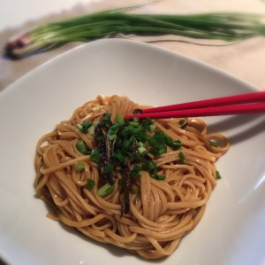 Shanghai Noodles with Spring Onion Oil葱油面