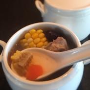 Double-boiled Sweet Corn Rib Soup