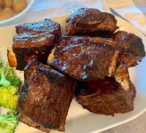 Barbecued Bone-in Short Ribs