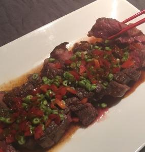 Beef Steak in Thai Style