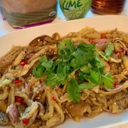 Thai-style Eggplant Salad泰式茄子沙拉