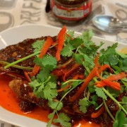 Dry-braised Fish with Sichuan Bean Paste Sauce豆瓣全鱼