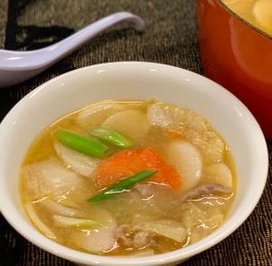 Chinese Rice Cake Soup年糕汤