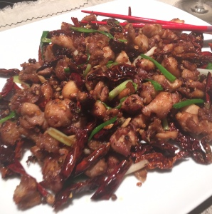Dry-Fried Chicken with Chili Pepper辣子鸡丁