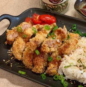 Baked Tonkastsu (Baked Pork Chop)烤猪排kǎo zhū pái
