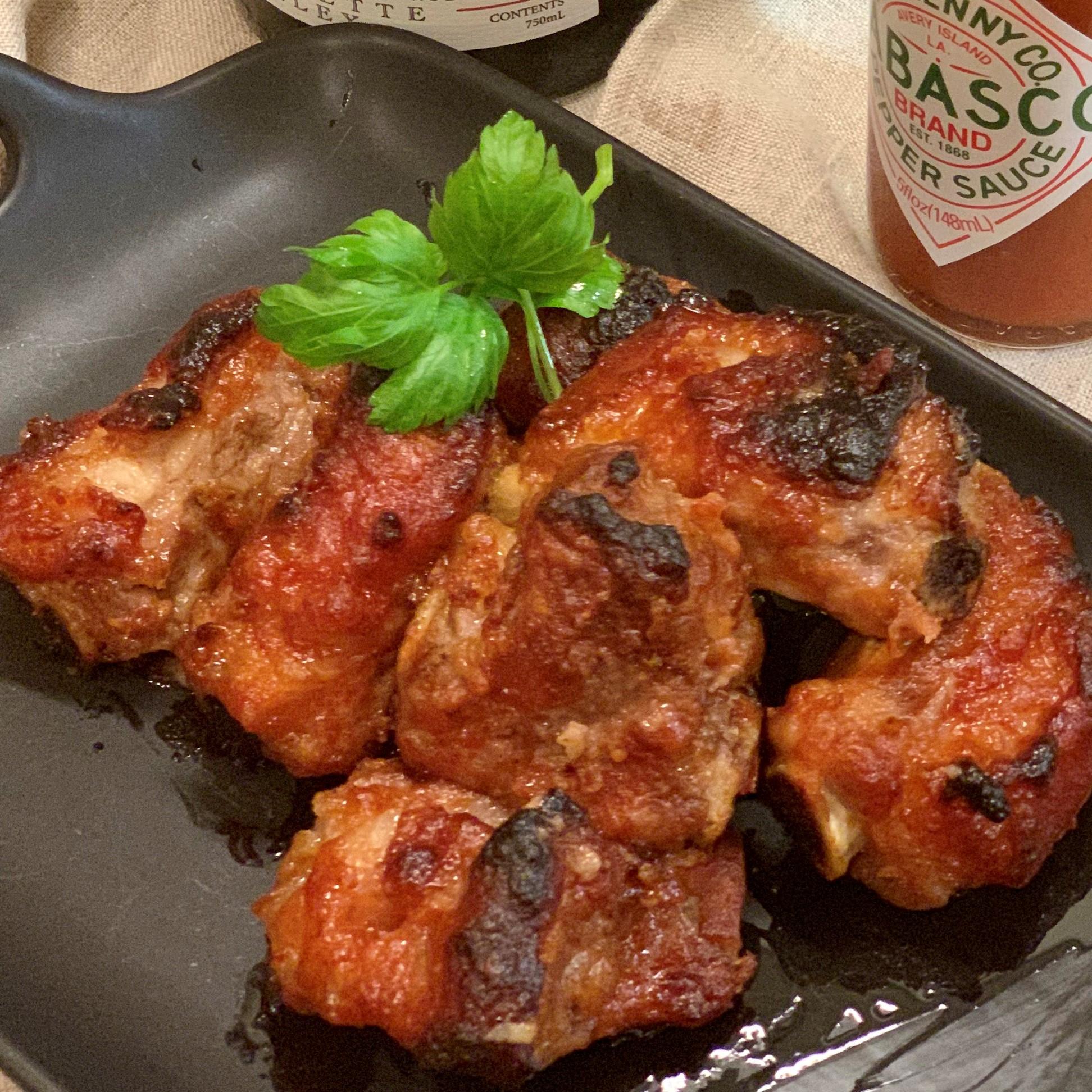 Grilled Mini Pork Ribs焦糖小排