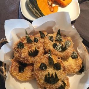 Chinese Pumpkin Pastry万圣节南瓜饼